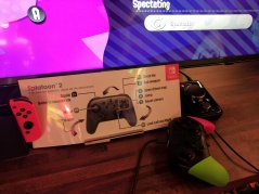 Splatoon 2 Pro Controller and controls